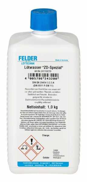 "Felder Lötwasser ""ZD-Spezial"", 1 Kg"
