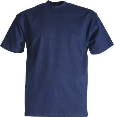 T-Shirt marineblau Rundhals, JOB