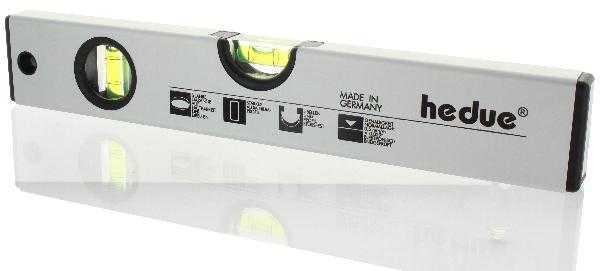 HEDÜ Alu-Wasserwaage mit Magnet 120 cm