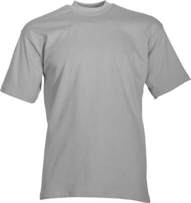 T-Shirt mausgrau Rundhals, JOB