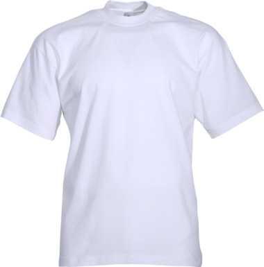 T-Shirt weiss Rundhals, JOB